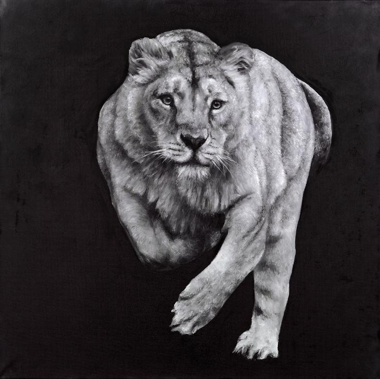 Monochrome Lion
